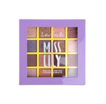 Lovely Miss Lily Eyeshadow Palette paleta cieni do powiek (13 g)