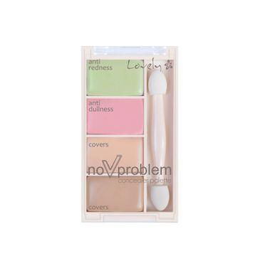 Lovely No Problem Concealer Palette paleta korektorów 8g