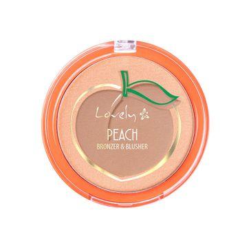 Lovely Peach Bronzer & Blusher duo do konturowania twarzy (7 g)