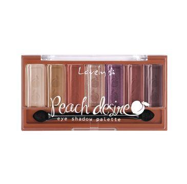 Lovely Peach Desire Eyeshadow Palette paleta cieni do powiek (6 g)