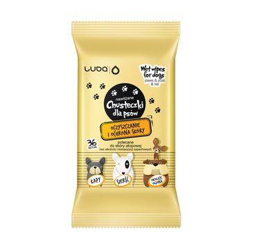 Luba Chusteczki nawilżane dla psów - oczyszczanie i ochrona skóry (36 szt.)