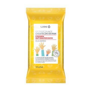 Luba Oczyszczające chusteczki do rąk z płynem antybakteryjnym dla dzieci (15 szt.)