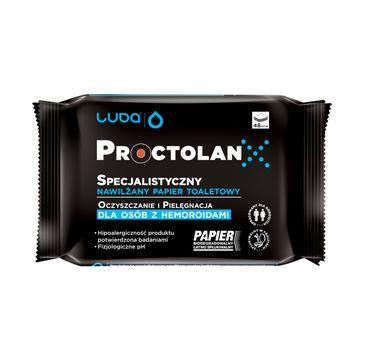 Luba Specjalistyczny nawilżany papier toaletowy dla osób z hemoroidami Proctolan (48 szt.)