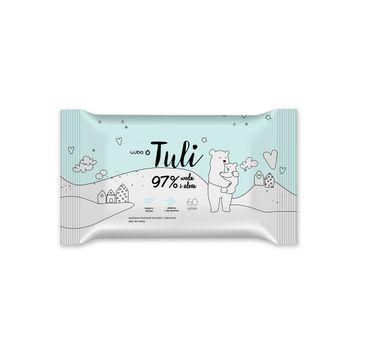 Luba Tuli nawilżane chusteczki dla dzieci i niemowląt 97% woda i aloes (60 szt.)