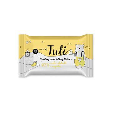 Luba Tuli nawilżany papier toaletowy dla dzieci Mango (50 szt.)