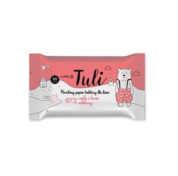 Luba Tuli nawilżany papier toaletowy dla dzieci Truskawka (50 szt.)