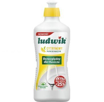 Ludwik Płyn do mycia naczyń Cytryna (900 ml)