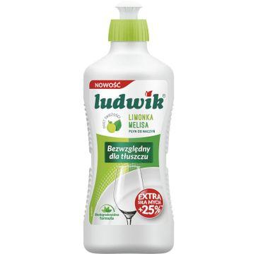 Ludwik Płyn do mycia naczyń Limonka i Melisa (450 ml)