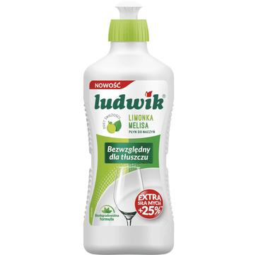 Ludwik Płyn do mycia naczyń Limonka i Melisa (990 ml)