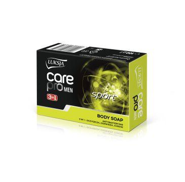 Luksja –  Care Pro Men Sport antybakteryjne mydło w kostce (100 g)