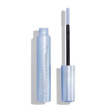 Lumene Blueberry Sensitive Mascara tusz do rzęs do wrażliwych oczu Black (9 ml)