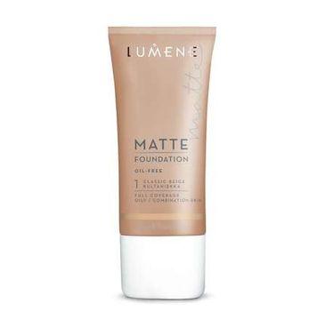 Lumene Matte (podkład 1 Classic Beige 30 ml)