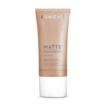 Lumene Matte (podkład 4 Warm Beige 30 ml)