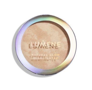 Lumene Natural Glow Highlighter rozświetlacz do twarzy 1 Luminous Glow (8.5 g)