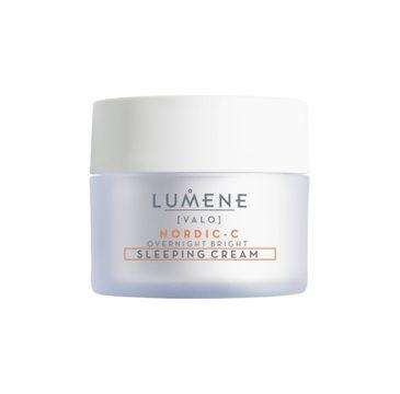 Lumene Nordic-C Valo Overnight Bright Sleeping Cream – krem do twarzy rozświetlający z witaminą C na noc (50 ml)