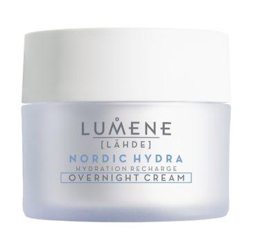 Lumene Nordic Hydra Lahde Hydration Recharge Overnight Cream nawadniający krem na noc do twarzy (50 ml)