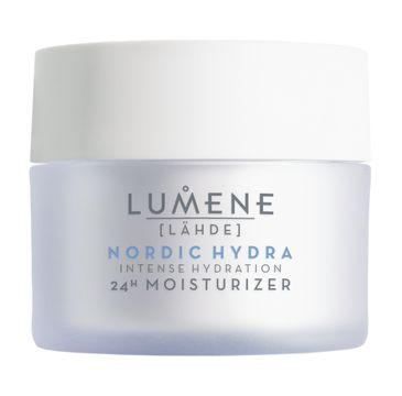 Lumene Nordic Hydra Lahde Intense Hydration 24H Moisturizer nawadniający krem do każdego typu cery (50 ml)