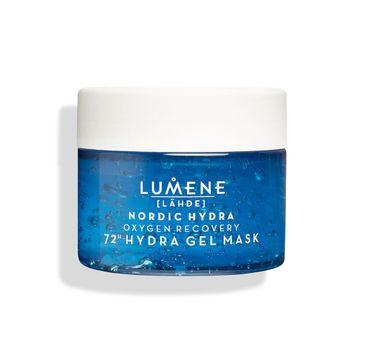 Lumene Nordic Hydra Lahde Oxygen Recovery 72h Hydra Gel Mask żelowa maska dotleniająco-nawilżająca (150 ml)
