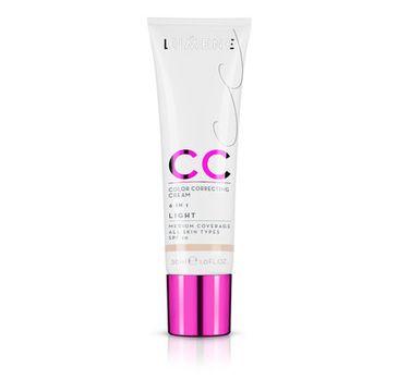 Lumene CC Color Correcting Creme (podkład CC 6W1 Light 30 ml)