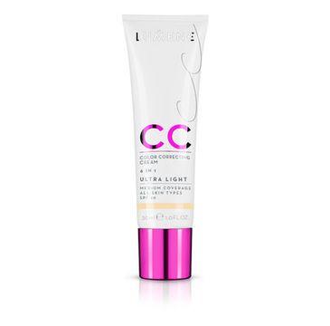 Lumene CC Color Correcting Creme (podkład CC 6W1 Ultra Light 30 ml)