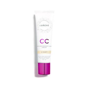 Lumene CC Color Correcting Cream – podkład do twarzy w kremie 7w1 Light (30 ml)