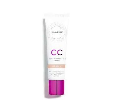 Lumene CC Color Correcting Cream – podkład do twarzy w kremie 7w1 Medium (30 ml)