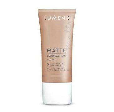 Lumene Matte (podkład matujący 2 Soft Honey 30 ml)