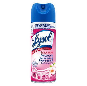 Lysol Aerozol do dezynfekcji powierzchni Kwiat Jabłoni (400 ml)