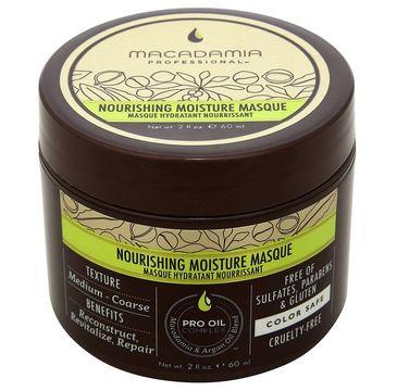 Macadamia Professional Nourishing Moisture Masque nawilżająca maska do włosów 60ml