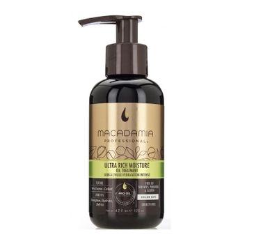 Macadamia Professional Ultra Rich Moisture Oil Treatment nawilżający olejek do włosów 125ml