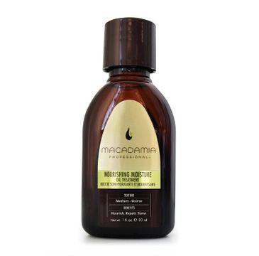 Macadamia Professional Ultra Rich Moisture Oil Treatment nawilżający olejek do włosów 30ml