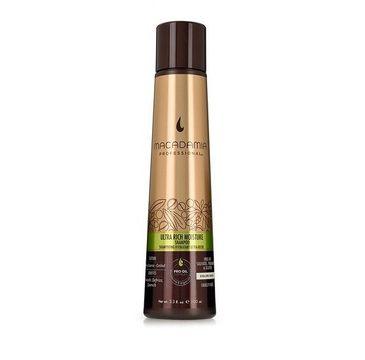 Macadamia Professional Ultra Rich Moisture Shampoo nawilżający szampon do włosów grubych 100ml