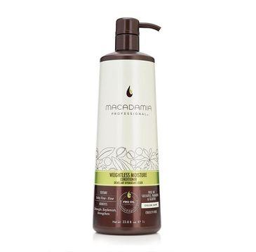Macadamia Professional Weightless Moisture Conditioner nawilżająca odżywka do włosów cienkich (1000 ml)