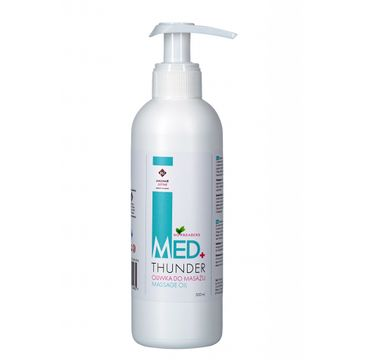 Madame Justine Med+ Thunder Massage Oil oliwka do masażu 500ml