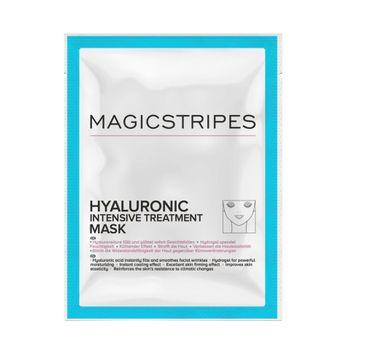 Magicstripes Hyaluronic Intensive Treatment Mask maska do twarzy kuracja hialuronowa 1szt