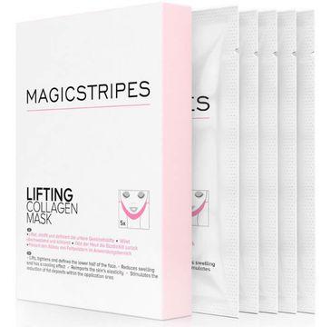 Magicstripes Lifting Collagen Mask liftingująca maseczka kolagenowa 5szt