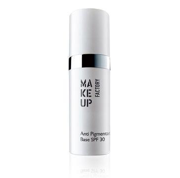 Make Up Factory Anti Pigmentation Base baza pod podkład eliminująca przebarwienia skóry Transparent SPF30 15ml