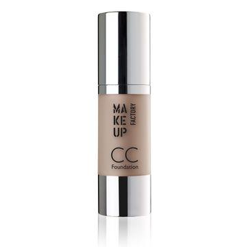 Make Up Factory CC Foundation Color Correcting podkład wielofunkcyjny SPF10 21 Light Caramel 30ml