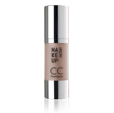 Make Up Factory CC Foundation Color Correcting podkład wielofunkcyjny SPF10 28 Caramel 30ml