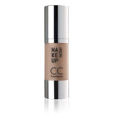 Make Up Factory CC Foundation Color Correcting SPF10 podkład wielofunkcyjny 15 Natural 30ml