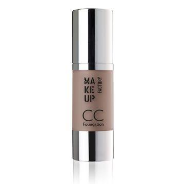 Make Up Factory CC Foundation Color Correcting SPF10 podkład wielofunkcyjny 35 Dark Caramel 30ml
