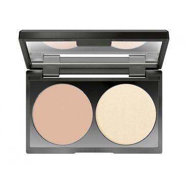 Make Up Factory Cover Up Concealer Set korektor z pudrem 03 2x3g
