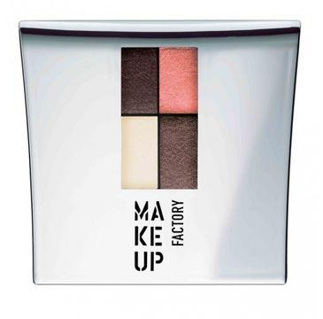 Make Up Factory Eye Colors Quatro zestaw cieni 06 Enchanted Earth 4,8g