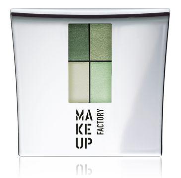 Make Up Factory Eye Colors Quatro zestaw cieni 28 Cool Pistachio 4,8g