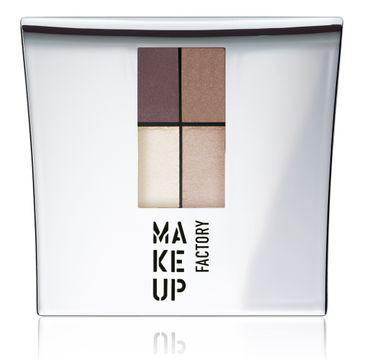 Make Up Factory Eye Colors Quatro zestaw czterech cieni 10 Misty Rose 4,8g