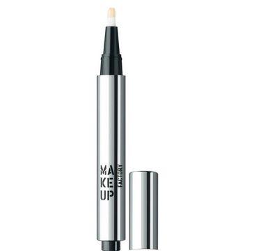 Make Up Factory Light Reflecting Concealer rozświetlający korektor w płynie 1 Luminous Beige 2,5ml