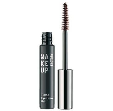 Make Up Factory Tinted Eye Brow Gel koloryzujący żel do brwi 3 Dark Brown 6ml