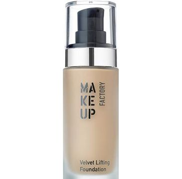 Make Up Factory Velvet Lifting Foundation jedwabisty podkład liftingujący 20 Honey Beige 30ml