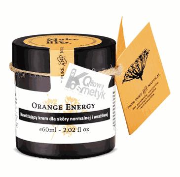 Make Me Bio –  Orange Energy nawilżający krem dla skóry normalnej i wrażliwej (60 ml)