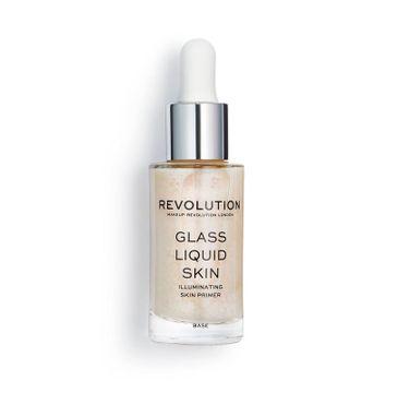 Makeup Revolution – baza pod makijaż Glass Liquid Skin serum (1 szt.)